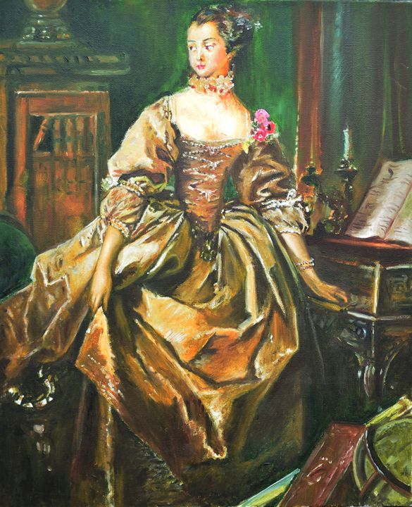 Renaissance Lady - ArtMind