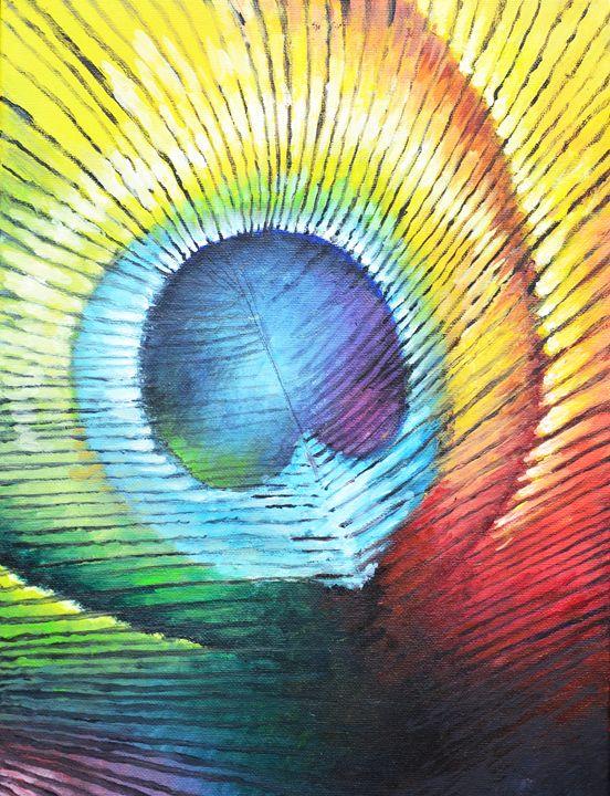 Rainbow Feather - ArtMind