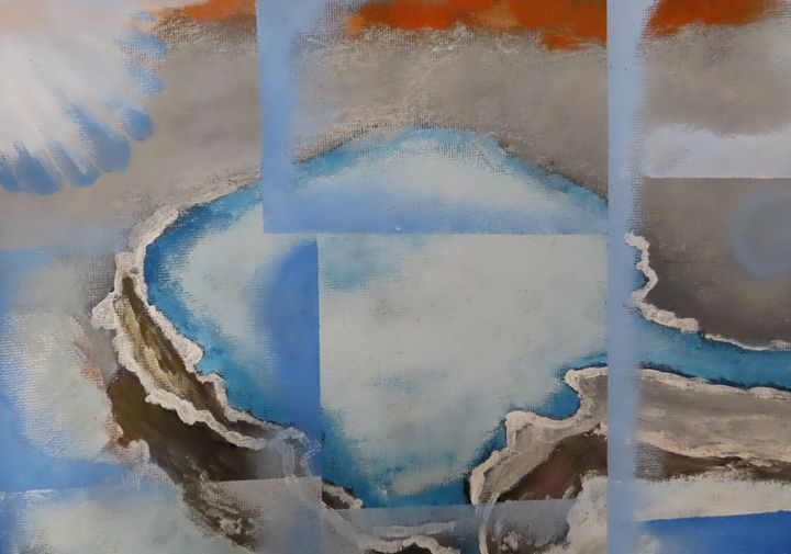 Deep blue - Art by Jancel
