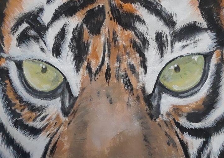 Eyes of Tiger - Art by Jancel