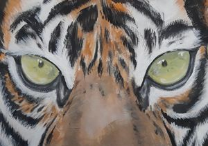 Eyes of Tiger - Art by Jancel