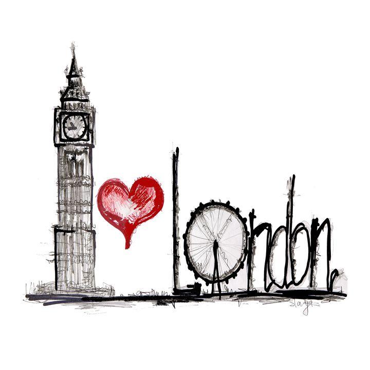 I love London - My World