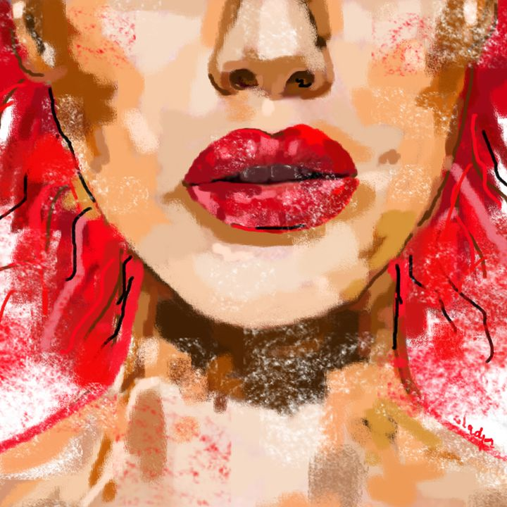 Red lips - My World