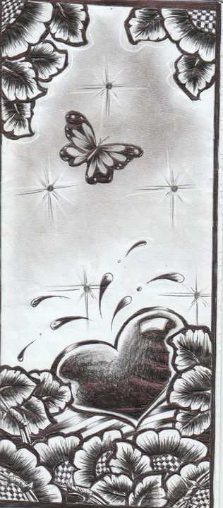 Black ink heart - 8eyespecial
