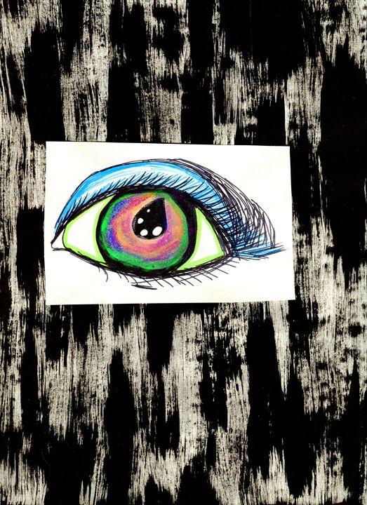 Monster Eye - Doodles