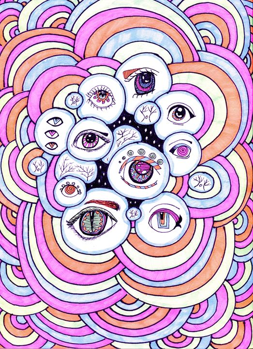 Hypno-Gaze in Pastel - Doodles