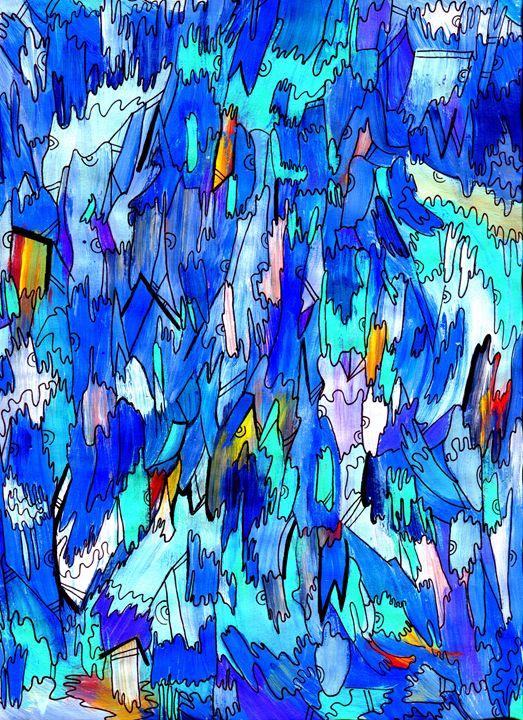 Sea Wall - Doodles