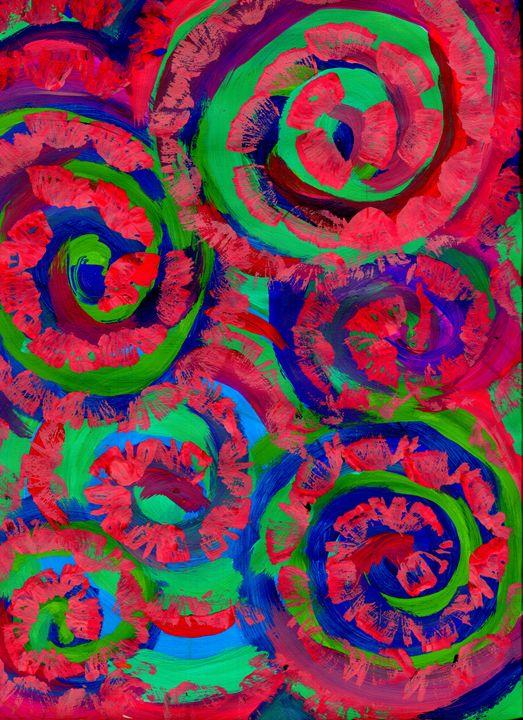 Rose Garden - Doodles
