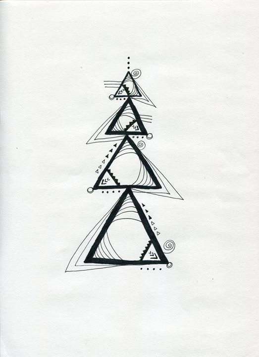 Triangles - Doodles
