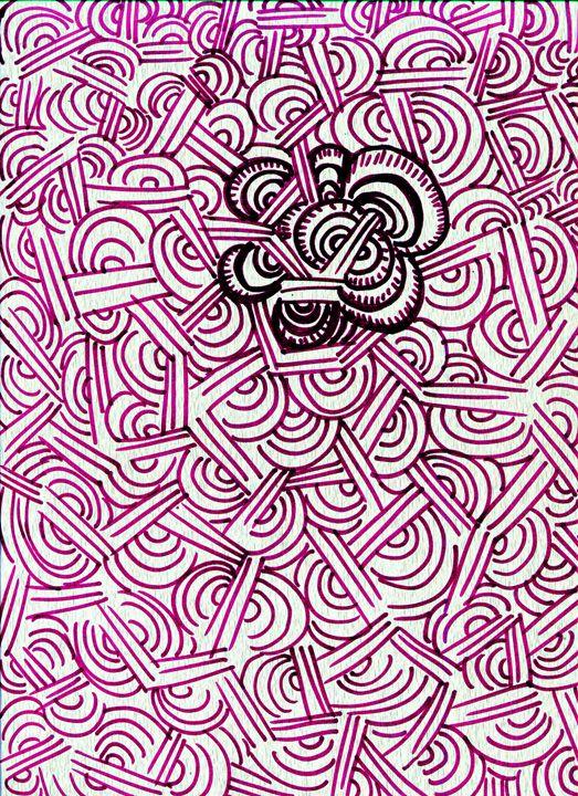 Flower Wall - Doodles