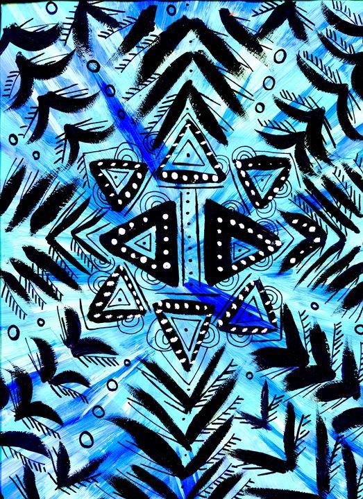 Sky Bubble Star - Doodles