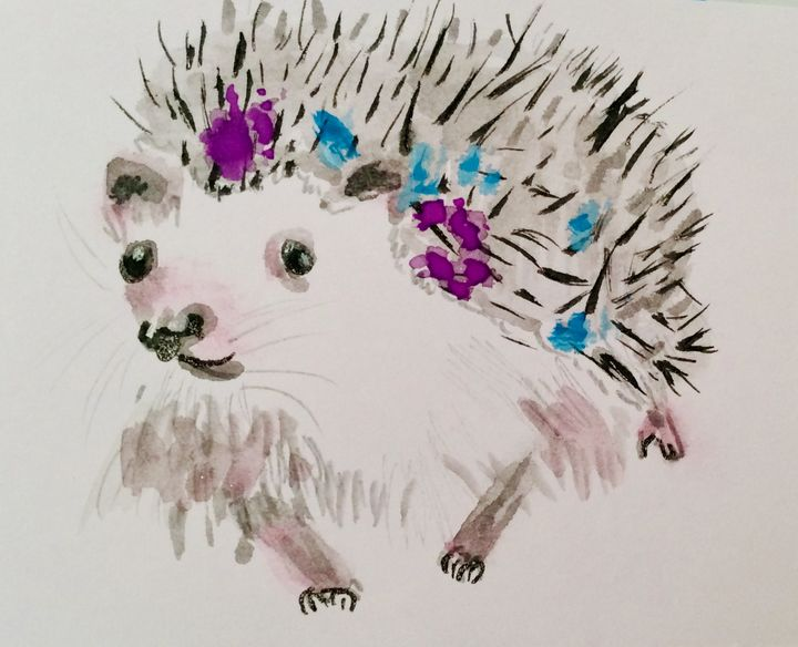 Little Prickly One - Zaramar Paintings