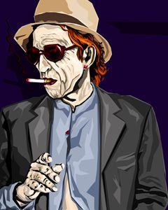 smoking rockstar