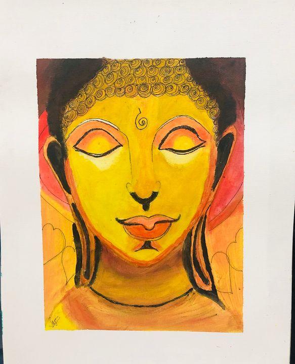 Buddha - Art attack