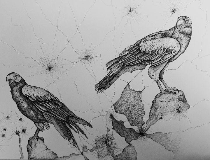 Eagle's Return - syed akheel art