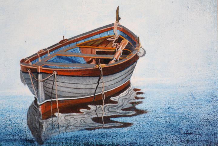 Boat 1 - syed akheel art