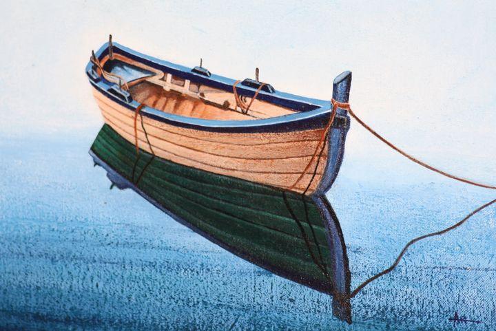 Boat 2 - syed akheel art