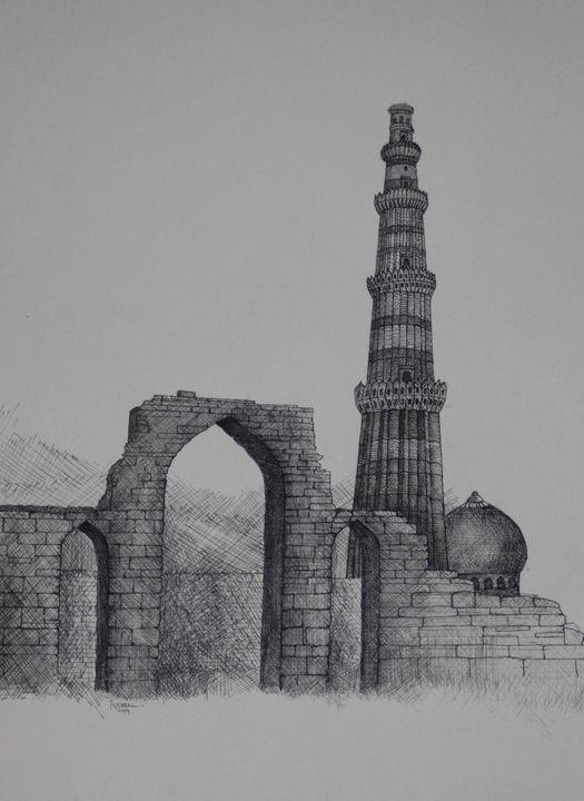 QUTUB MINAR 1 - syed akheel art