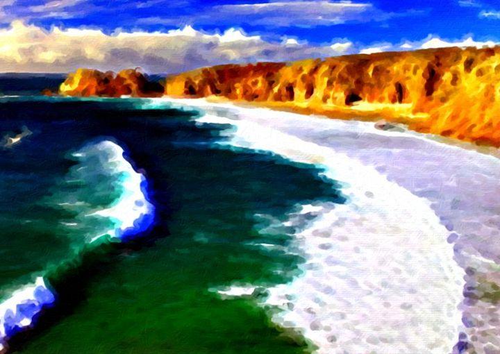 Cornish Coast - Brian Aldridge