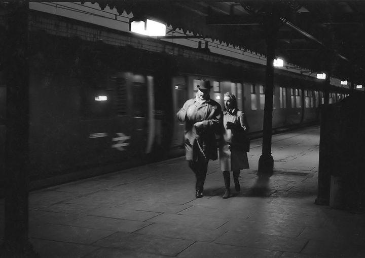 Goodmayes Station 1970, Ilford - Brian Aldridge