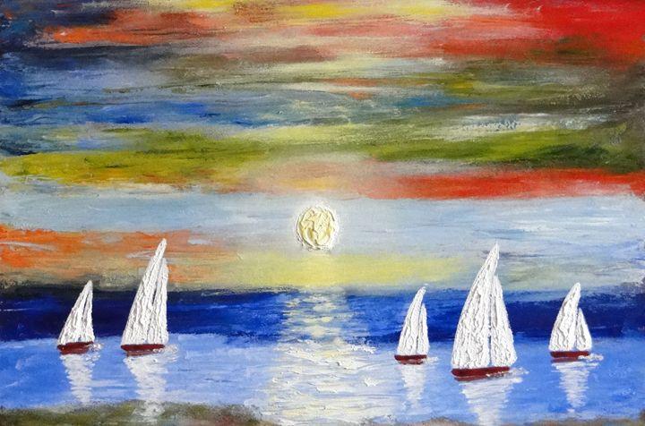 Sailing Boats - Brian Aldridge