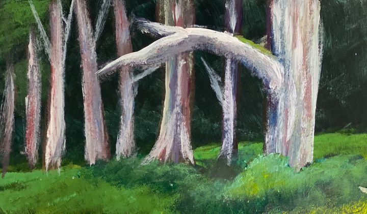 Color trees - Amanda Rose
