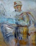 oil on canvas, 55x65cm