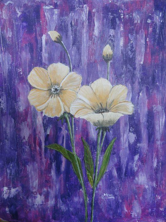 Dainty flowers and buds - elizabeth samuel