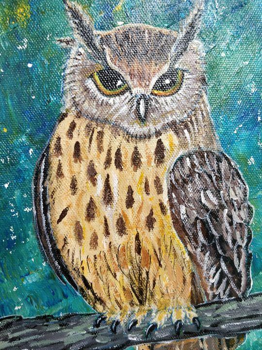 Majestic Owl - elizabeth samuel