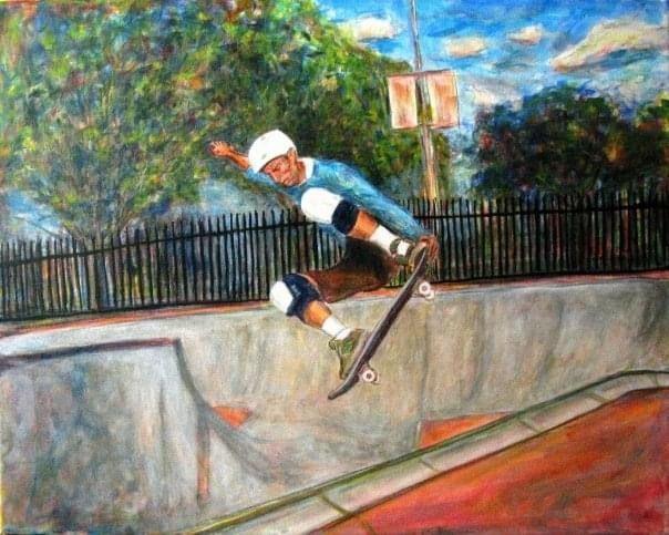 Costa Mesa Skatepark - Mark Brazney