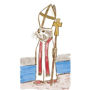 Pope Chad, River Otter