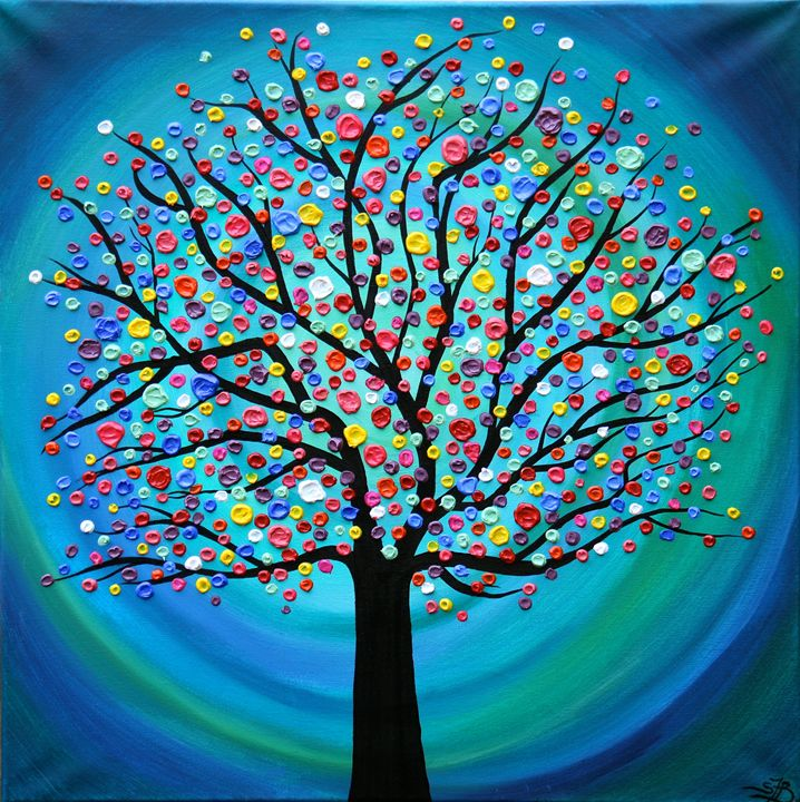 Tree Of Fortune - SFBFineArt