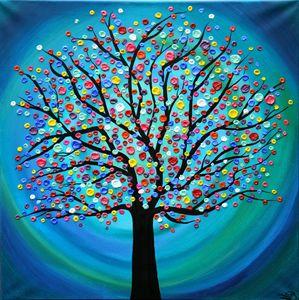 Tree Of Fortune - SFBFineArt
