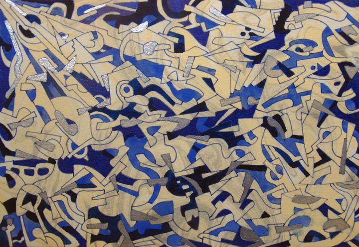 Hsin's Pattern number 1 (machine) - Tseng Hsin