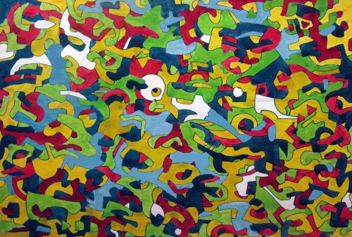 Hsin's Pattern number 3 - Tseng Hsin