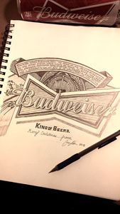 Budweiser Drawing