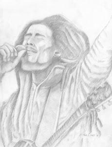 Bob Marley - Deleno arts
