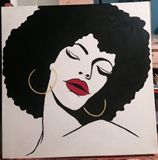 Donna. 20x20 inch canvas