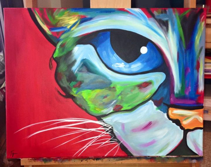 Meow... - Paintings by Tyra
