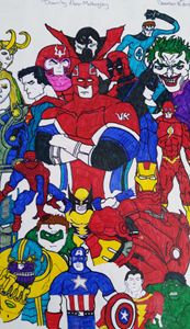 Marvel DC characters