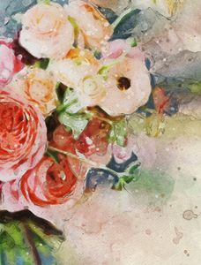 Floral Watercolor Light