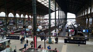 Paris Train Gare du Nord