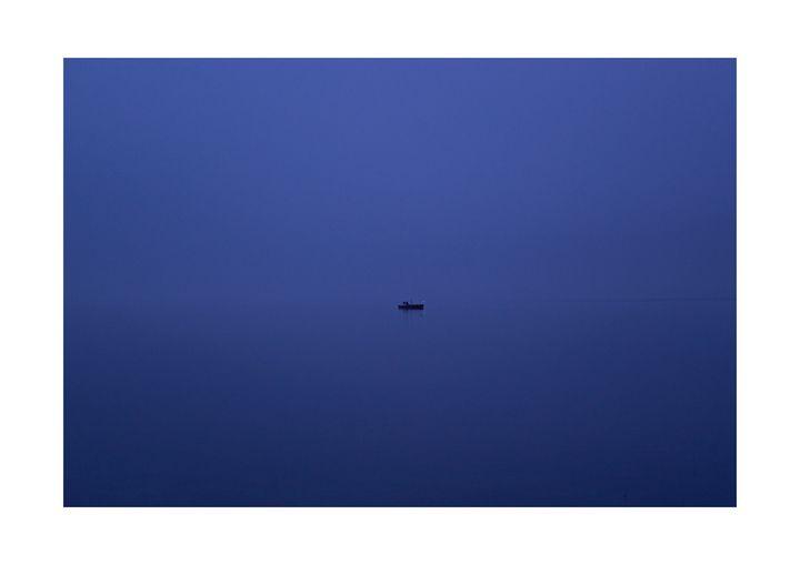 0039_Boat in the mist - Nedim Bajraktarevic