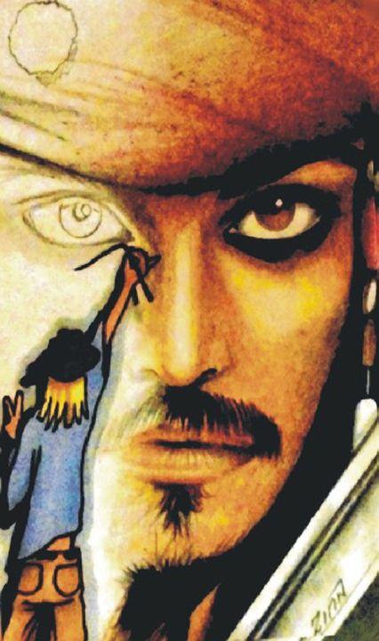 Drawing Jack Sparrow - Alan Zinn