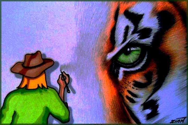 Drawing a Tiger - Alan Zinn