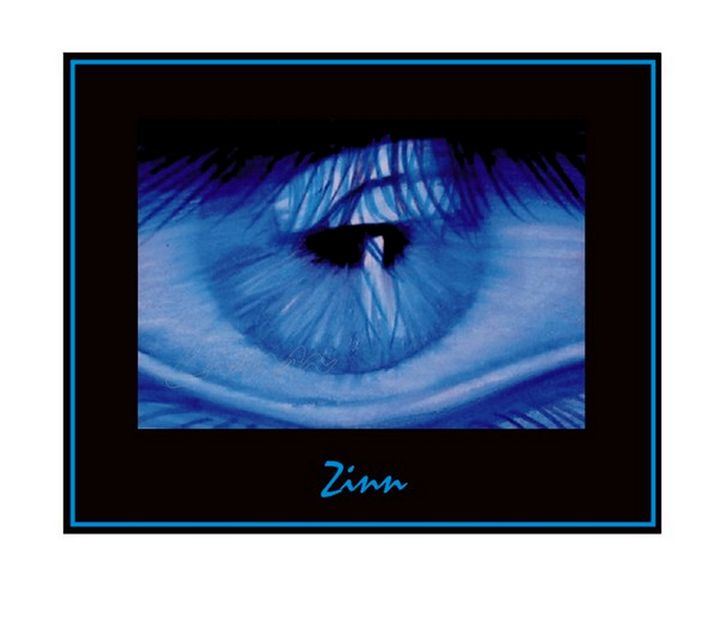 Close up Blue Eye - Alan Zinn