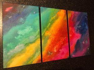 Abstraku toile colorée