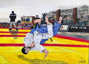 shiai : projection de judo