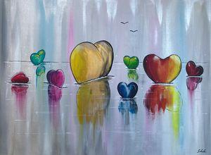 The regatta of hearts (Les coeurs)
