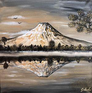 Ambiance saharienne au Mont Fuji